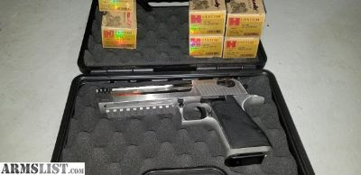 For Sale: Magnum Research .50 AE Desert Eagle SS w/ muzzle brake