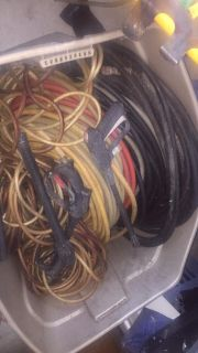 Miscellaneous pressure cleaning hoses and wands