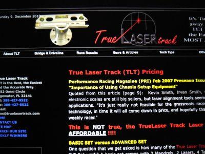 True Laser Track advanced
