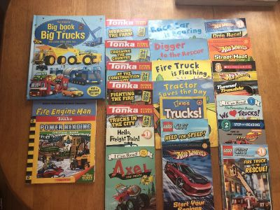 Windham - Early Reader and Read Aloud Lot (Truck & Transportation Theme)