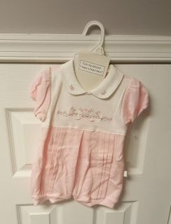 NWOT Pink 3-6mos outfit