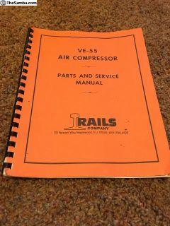 Aircooled industrial compressor manual