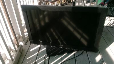 32-Inch Flat Screen Television works As Is $15.00