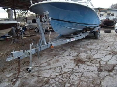 26ft 4in Tandem Galvanized boat trailer(GT-45)