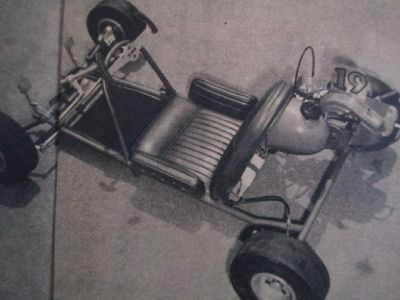 "1965 Vintage Hawthorne "" Dream"" Kart. COMMING SOON"