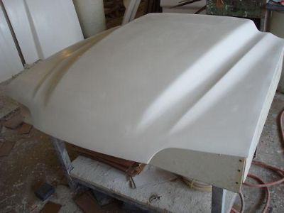 "Sell Fiberglass 4"" Cobra R Bolt-on Mustang Hood 87-98 motorcycle in Cincinnati, Ohio, US, for US $179.00"
