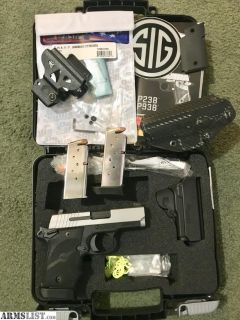 For Sale/Trade: Sig Sauer P938 + EXTRAS