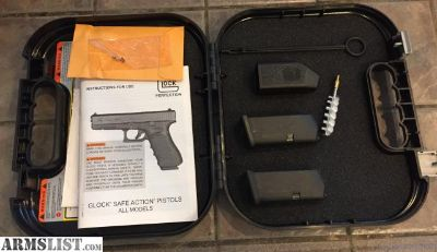 For Sale: Glock 26 box with magazines and all accessories. New,unused