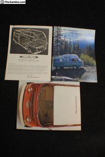 1970s Hightop Bus Adventure Camper Brochures 3