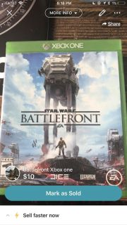 Battlefront for Xbox one