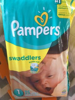 Size one diapers