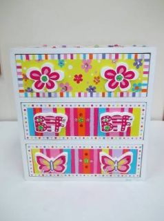 Bright And Colorful Girl's Jewelry Box - L@@K!