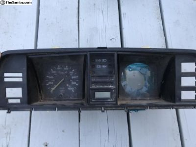 Vanagon Instrument Cluster Without Tachometer