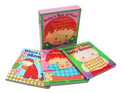 Babys Box of Fun A Lift-The-Flap 3 Book Boxed Gift Set