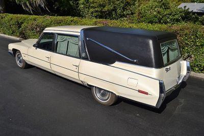 1971 Cadillac 'crown' Superior Sovereign Landulet Hearse Beautiful Original Low Miles