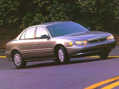 1998 Buick Century Custom (Twilight Blue Metallic)