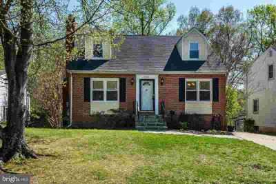 5609 Goucher Dr BERWYN HEIGHTS, Large Five BR Cape Cod on
