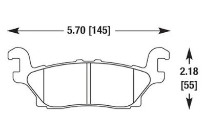 Find HAWK HB527Z.604 - 06-10 Hummer H3 Rear Brake Pads Ceramic motorcycle in Chino, California, US, for US $97.97