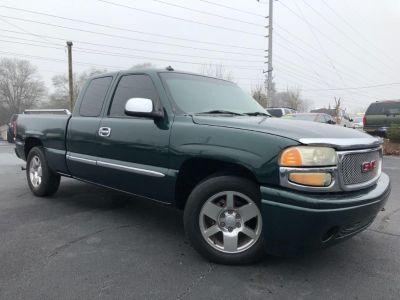 2001 GMC Sierra 1500 SL (Green)