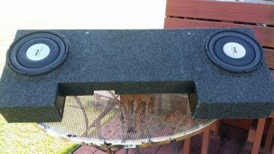 SUV TRUCK SPEAKER BOX WITH SPEAKERS