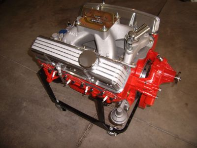 Dart SHP Chevy 400 Engine