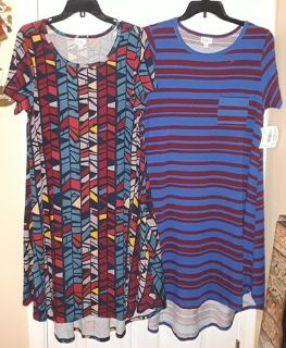 $35 Firm for Both Brandnew Lularoe Carly Dresses size Large Fit's size's 14 to 20