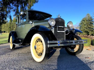 1931 Ford Model A With Rumble Seat