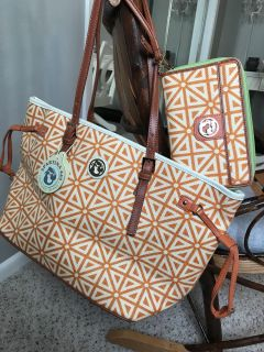 BRAND NEW WITH TAGS Spartina purse and wallet