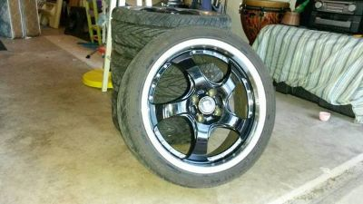 Tires and Motegi racing Rims for sale
