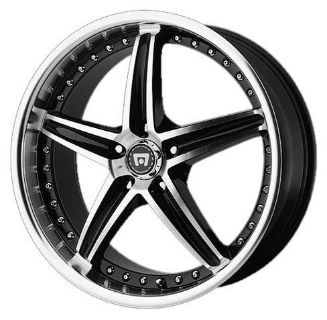 "Sell 18"" X 8"" MOTEGI MR107 5X112 SLK GLK MLK A3 A4 A5 A6 JETTA GTI BLACK WHEELS RIMS motorcycle in Addison, Illinois, US, for US $574.00"