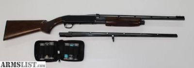 """For Sale: Browning BPS Hunter .410 with Two Barrels 21""""&26"""" , Invector Choke System"""