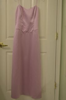 NICOLE MILLER Pink Satin Gown Size 4-6