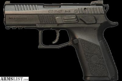 For Sale: NEW! CZ-P-07 9mm 10 rd Black