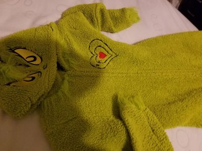 Grinch suit 4 to 6
