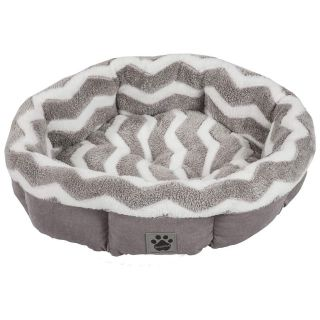 Snoozzy Precision Pet SNZ HZZ Shearling Round Bed