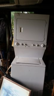 STACKABLE WASHER-DRYER. AND CULLIGAN WATER COOLER
