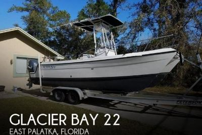 1998 Glacier Bay 22 CAT