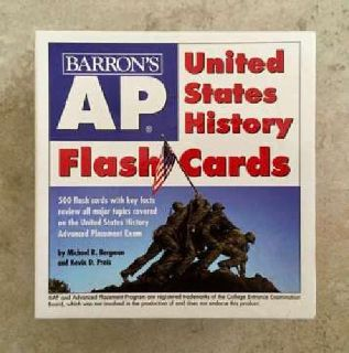 AP United States History Flash Cards (Barron's Ap) (Cards)