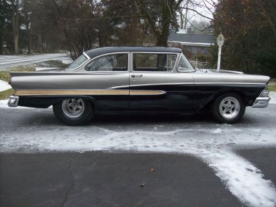 Nice Low Mile Fully Tubbed Pro-Street 1958 Ford Custom 300