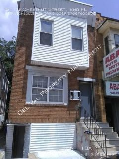 1-Bedroom 2nd FL Apartment For Rent - 5119 Chestnut Street , 2nd FL - Available Now!