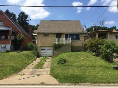 3 Bed 2 Bath Foreclosure Property in West Mifflin, PA 15122 - Kennywood Blvd