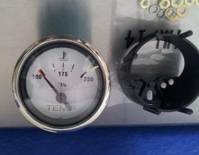 Buy Marine Stainless & White Water Temperature Gauge 100-250 Degree motorcycle in Spring Hill, Florida, US, for US $22.95