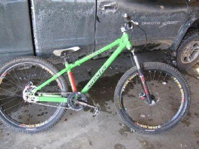 $800 Sinister DNA dirtjumping bike