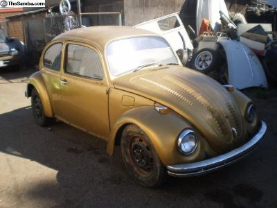 1969 bug project solid California car now parting