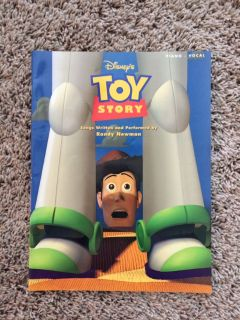 Toy Story Piano Vocal Music Book