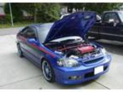 2000 Honda Civic Si supercharged
