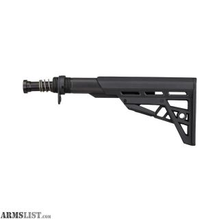 For Sale: Advanced Technology Intl AR-15 TactLite Adjustable Mil-Spec Stock with Mil-Spec Buffer Tube Assembly, Black B.2.10.2214