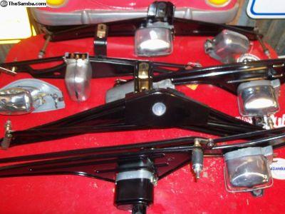Restored VW +Porsche wiper units parts all types