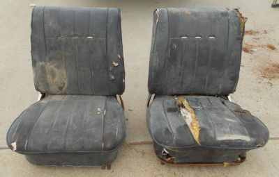 Purchase 64 65 1964 1965 chevelle gto gs 442 nova hot rod rat rod custom bucket seats motorcycle in Sacramento, California, US, for US $300.00