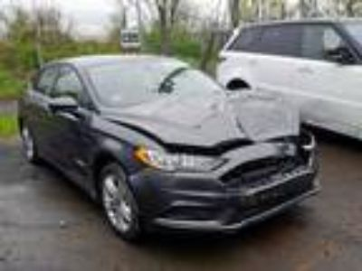 Salvage 2018 FORD FUSION SE HYBRID for Sale